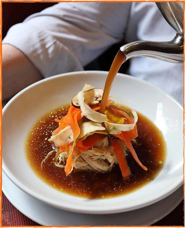 DB Tavern Soup Pour