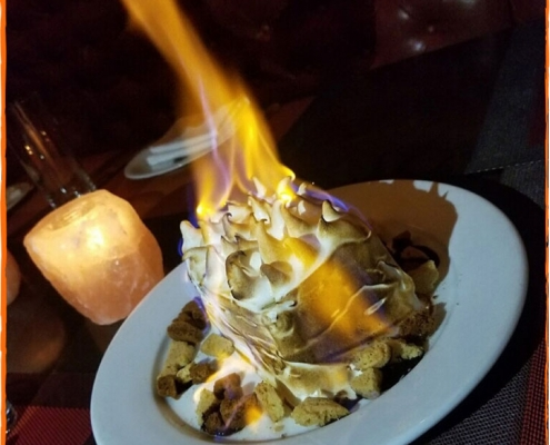 David Burke Tavern Baked Alaska for 2 Dessert
