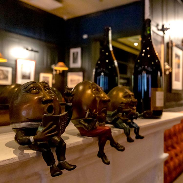 David Burke Tavern 2nd Floor Mantle - Wine Events