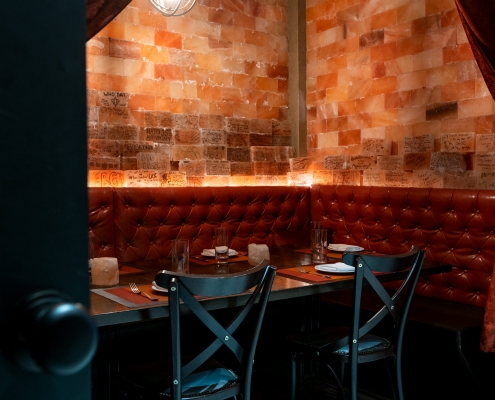 The Pink Salt Room at David Burke Tavern (semi private alcove)
