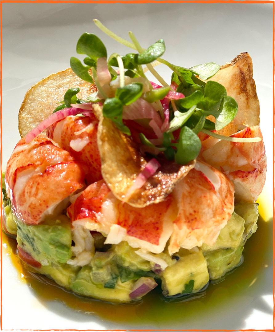 Lobster Guacamole Special