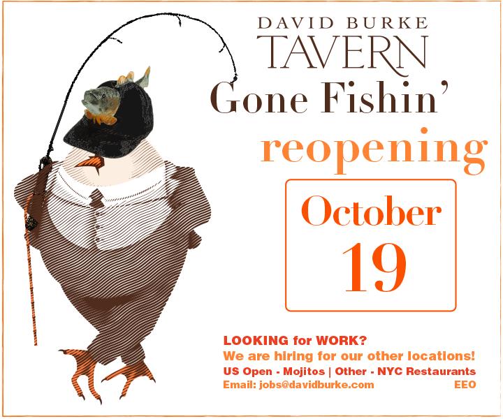 Gone Fishing, Reopening Late September